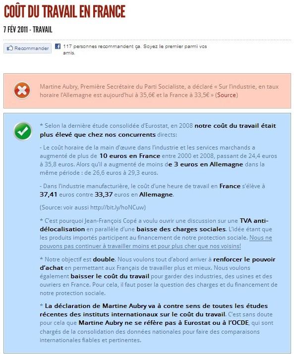 Coût du travail en France  Observatoire des Mensonges de la Gauche